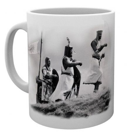 Monty Python And the Holy Grail Knight Riders Ceramic Mug